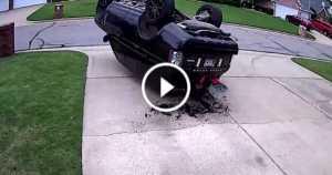 Range Rover Crash J Turn 2 TN