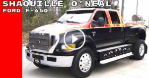 Shaquille O Neal Ford F-650 Super XLT Super Duty Truck 1