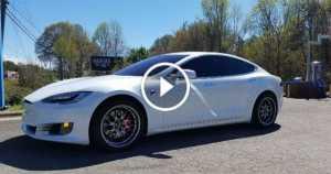 Tesla Model S P100D Stripped Interior 1 TN