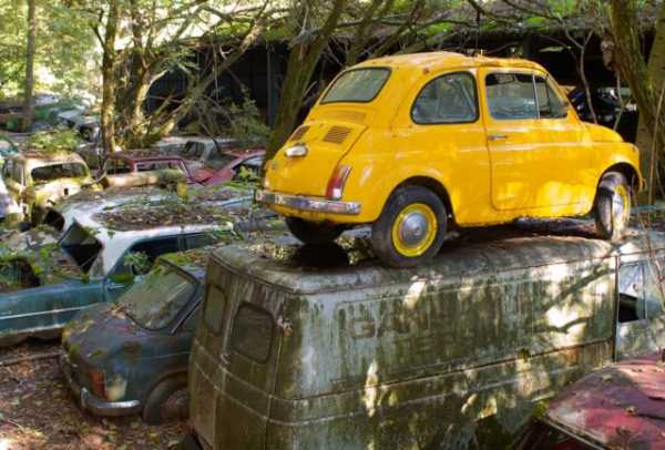 1,500 Classic Cars Switzerland Greatest Vintage Car Graveyard 5
