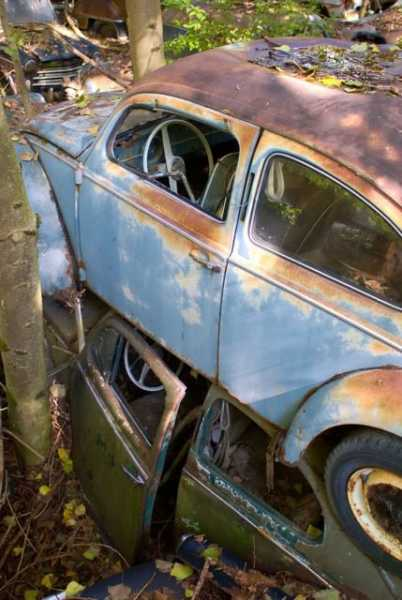 1,500 Classic Cars Switzerland Greatest Vintage Car Graveyard 7