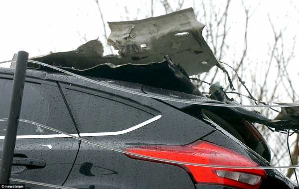 Brand New Ford Cars Smashed Transporter Low Bridge 2