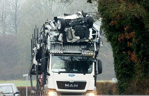 Brand New Ford Cars Smashed Transporter Low Bridge 4
