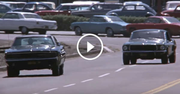 "Charger Vs Challenger >> ""Bullitt"" Movie Car Chase Scene! Mustang vs Charger at San ..."
