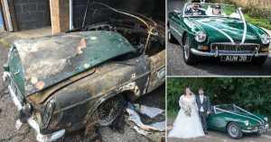 Classic Car - Vandals Torched It 3