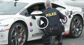 Cop Pulls Over Lamborghini asks spin 2