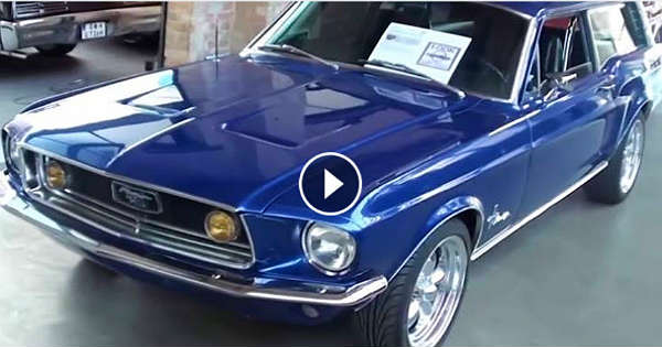 Ford Mustang 1968 Break Sport Wagon Muscle Cars Zone