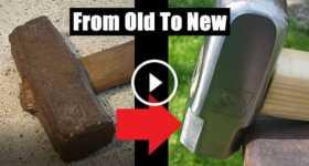 Hammer Restoration Project diy 1