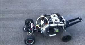 Insane RC Car TWO 100cc 2 Stroke Engines 1 TN