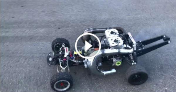 Insane Rc Car Two Cc Stroke Engines Tn