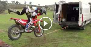 Loading a Bike into truck zipline 2