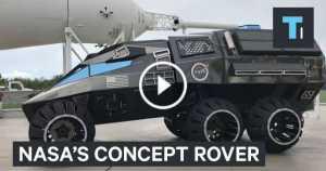 NASA Rover Concept Mars 1 TN