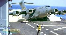 Refueling Aircraft Carrier Millions Dollars Oil 6