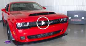 Roaring Dodge Demon SRT Rips Through The Engine 2 TN