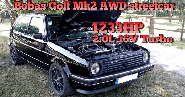 Ultimate Sleeper This Insane VW Golf Mk2 Can Beat Even The Dodge Challenger SRT Demon 7