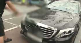 Unhappy Customer Smashes Mercedes-Benz S63 AMG Golf Club 7