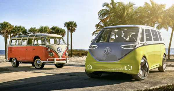 The Vw Microbus Is Back In Action