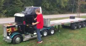 kart powered mini truck 2