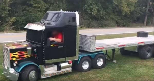kart powered mini truck 4