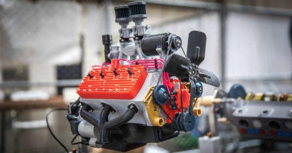 3D Printed Engine 1 NPB