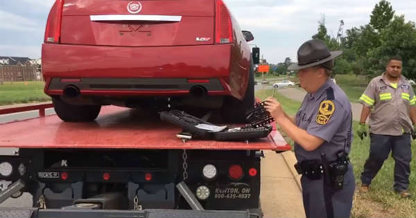 Cadillac CTS V Confiscated 4