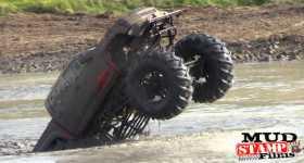 Cummins Diesel Wheelie Mud Huge Tires 1