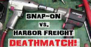 Detailed Comparison Snap on vs Harbor Freight 1 NPB