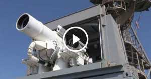 First LASER Weapon Unveiled by US Navy 1