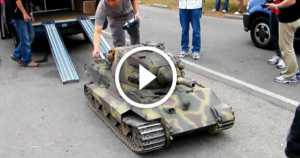 Giant RC Tank Scale Adult Toy
