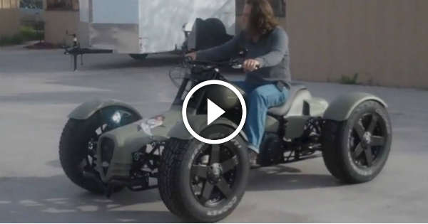 This Harley Davidson Quad Bike Is A Must Have! Anyone? - Muscle Cars
