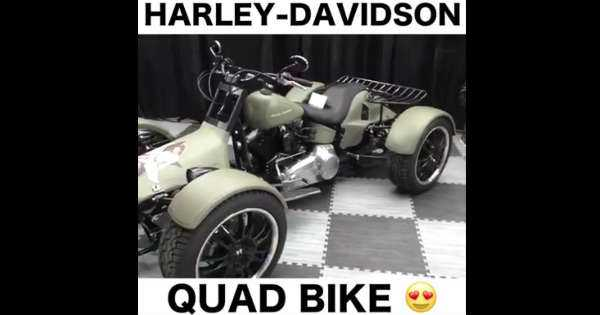 Harley Davidson Quad Bike 3