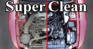 Have A Super Clean Engine Bay 1_1