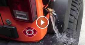 Jeep Wrangler JK Modification Pressurized Running Water System bumper 2