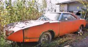 LEGENDARY 1969 Dodge Charger Daytona amazing barn find 1