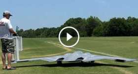 Largest RC Version Spirit Stealth Bomber 2
