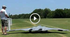 Largest RC Version Spirit Stealth Bomber 2