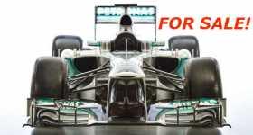 Lewis Hamiltons Formula 1 Car For Sale 2