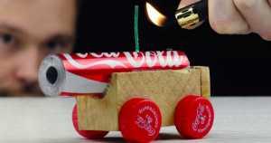 Mini Coca Cola Cannon 1