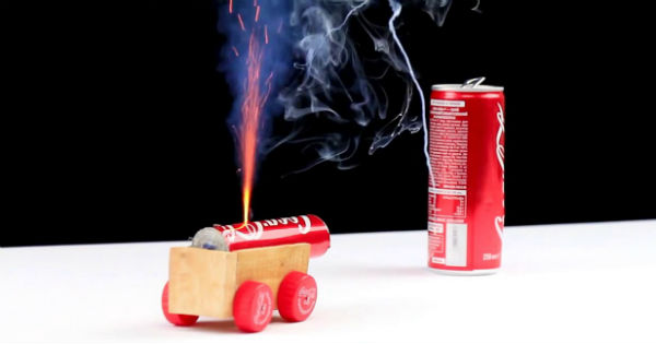 Mini Coca Cola Cannon 2