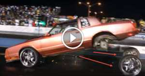Chevy Monte Carlo Blows The WHEELS OFF
