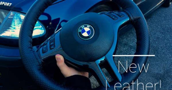 REWRAP A Steering WHEEL 2