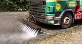 Road Jetter - High Pressure Cleaning Truck 1
