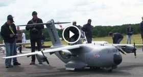 Small RC Version Of A Huge Airbus A400M Atlas 1