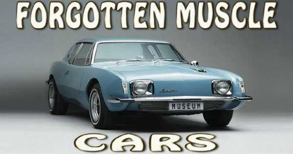 Top 10 Forgotten Muscle Cars american 60s 2
