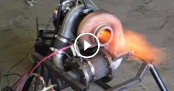 A Turbo Is ALL You Need to Build a Homemade Jet Engine