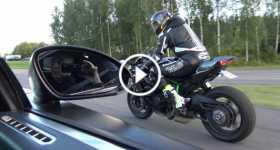 Ultimate Battle Bugatti vs Kawasaki 1 TN