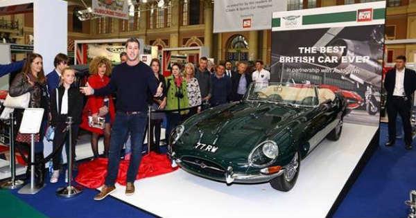 Vintage Jaguar E Type 3