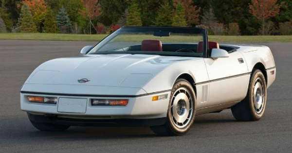 1987 Chevrolet Corvette Convertible Corvette History Best Cars