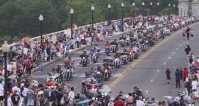 2017 Harley Davidson Parade 500000 riders 2