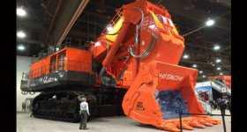 Biggest Mining Excavator - Hitachi EX5600-6 1